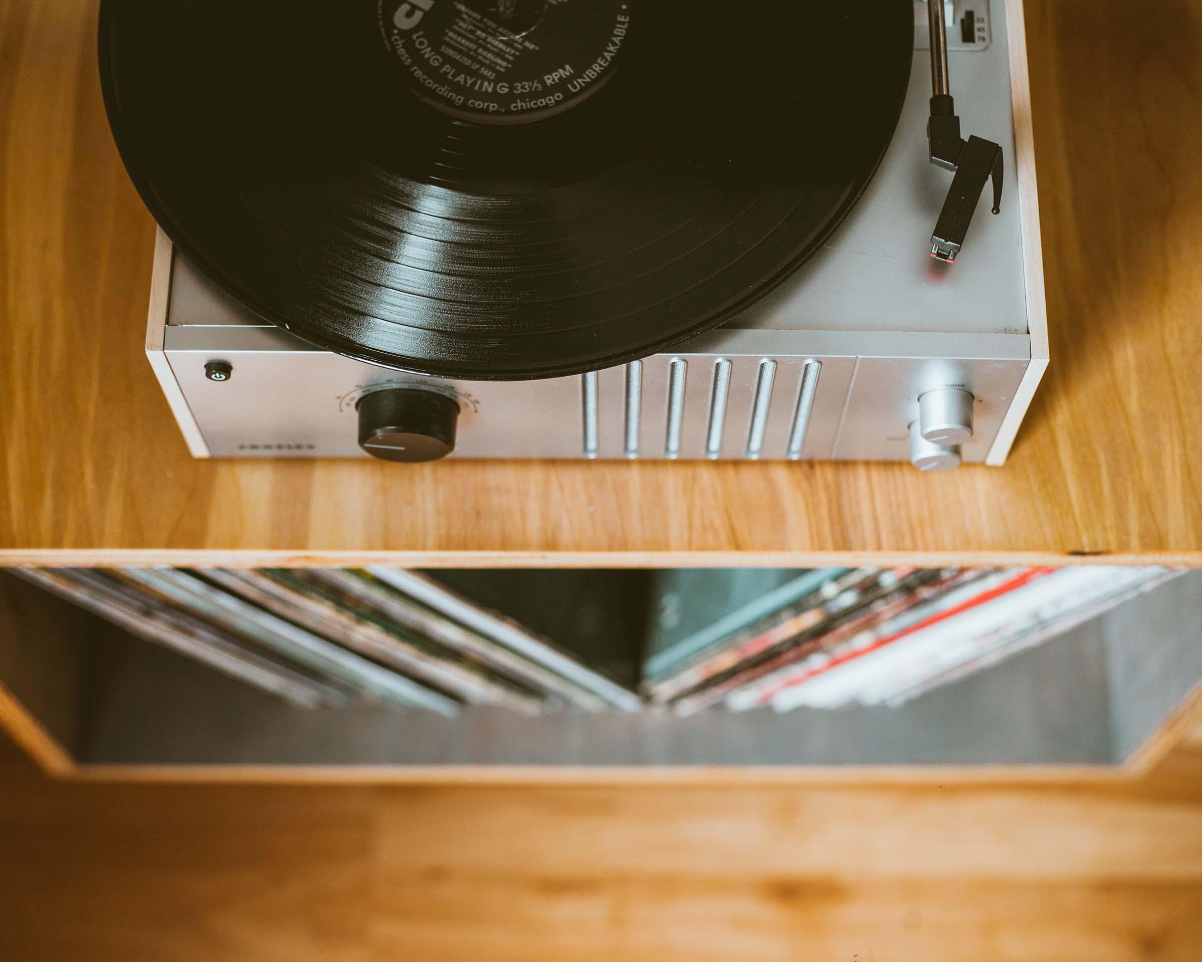 platine vinyle Maison Arriù
