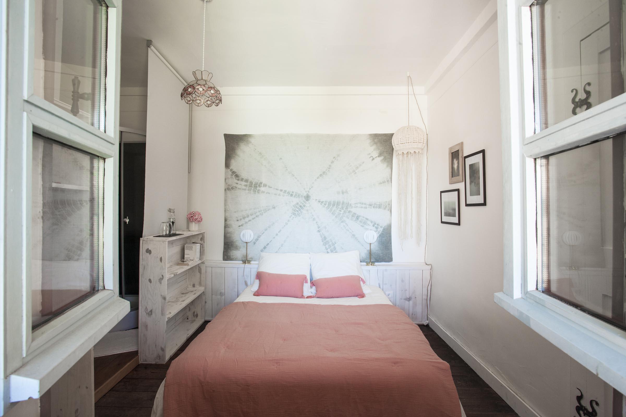 Chambre rose Maison Arriù