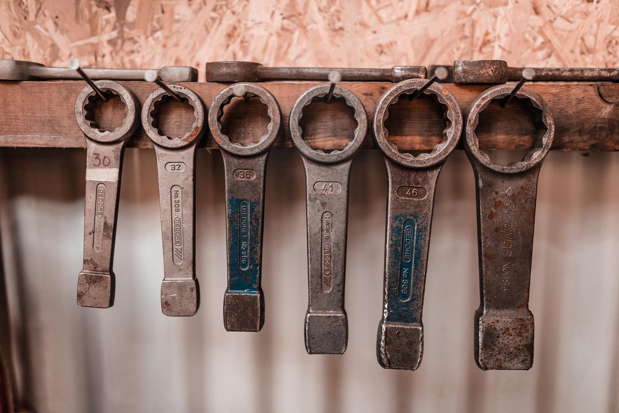 Des outils prêts pour un atelier