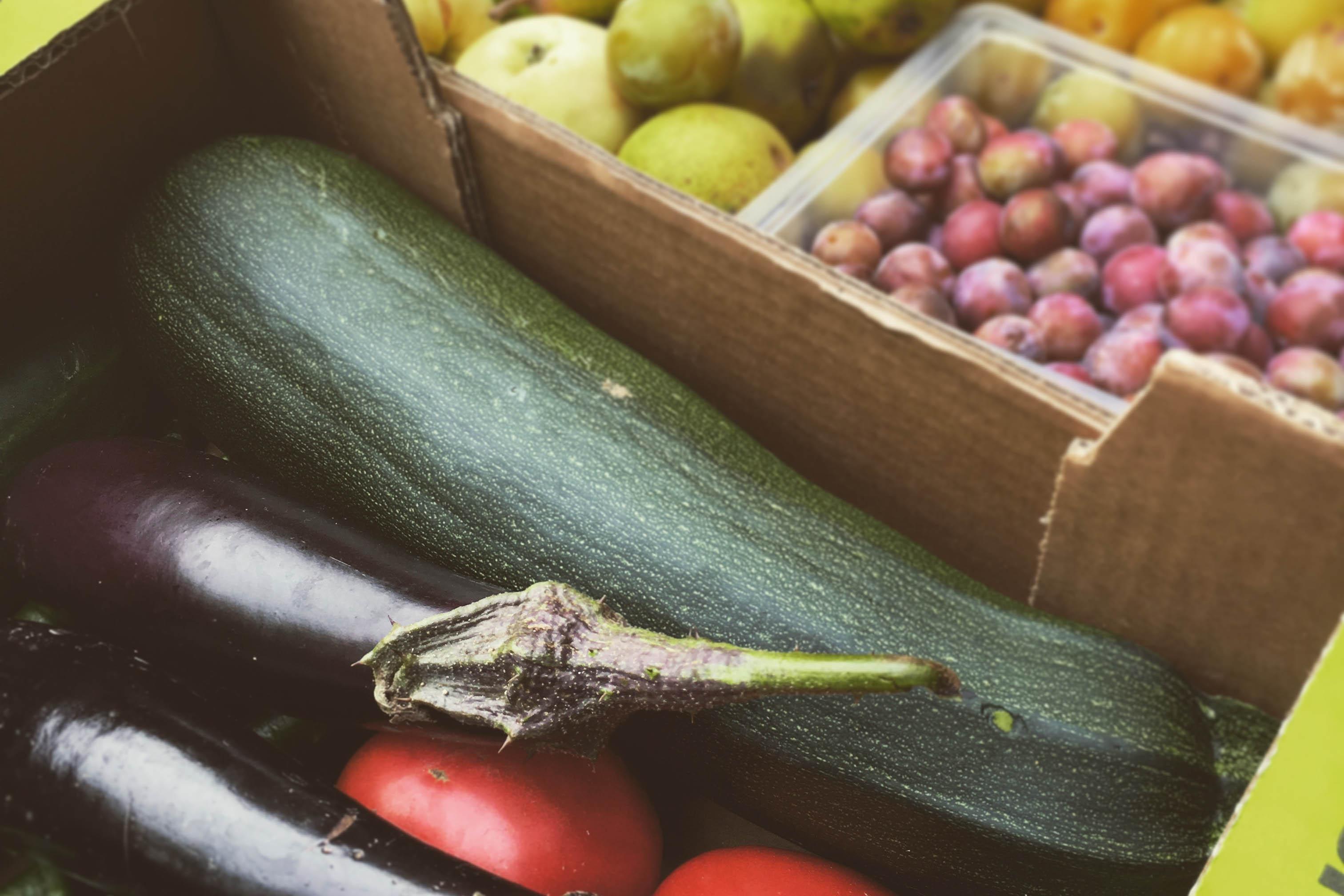 Legumes du potager du voisin